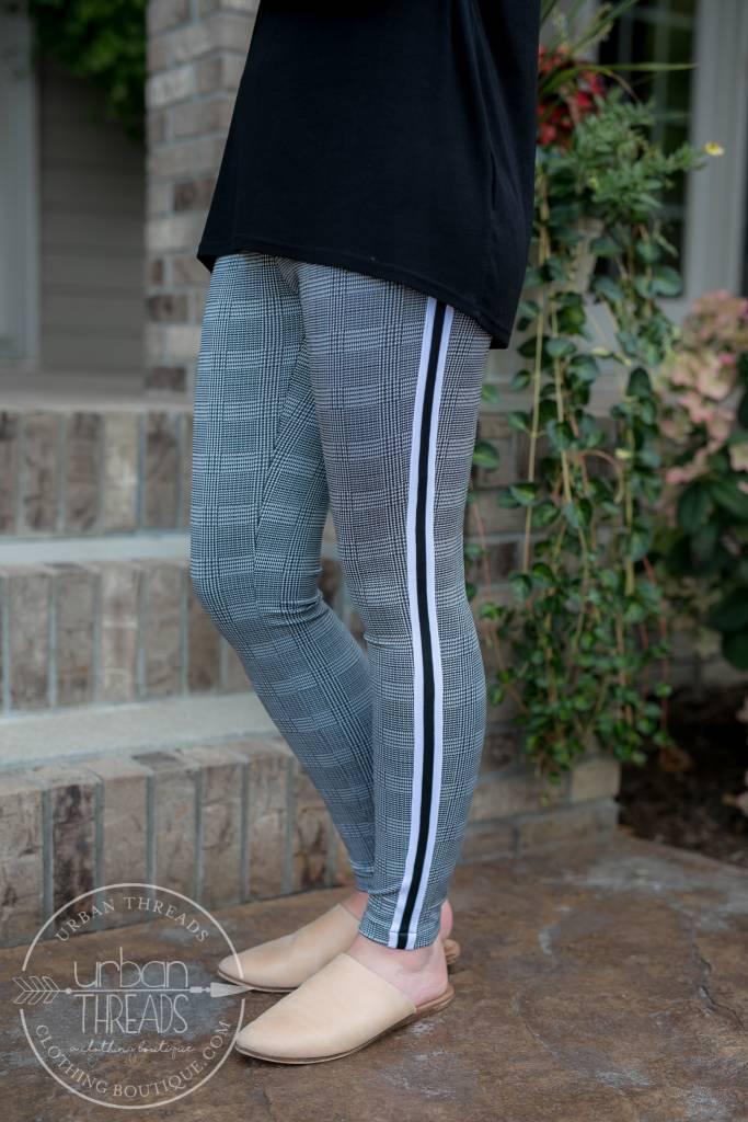 Monoreno Grey Leggings