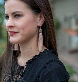 Blush Tayla Tassel Earring