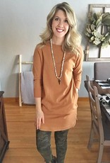 Rust Tunic With Pockets