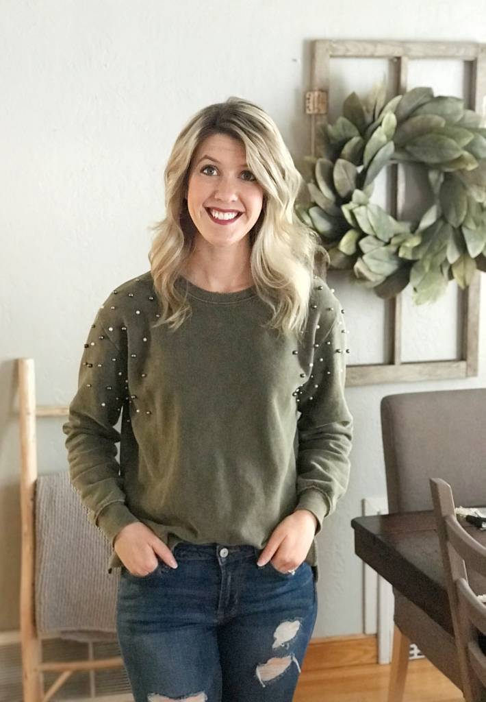Pearl Studded Top