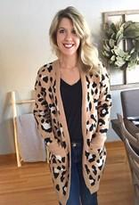 Mocha Leopard Sweater