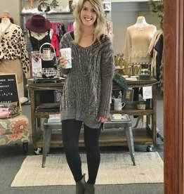 Grey Slouchy Sweater