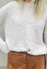 Cream Popcorn Sweater