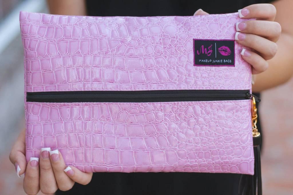 Small Blush Makeup Junkie Bag