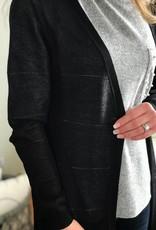Black Bobbi Cardigan