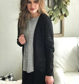 Black Bobbi Cardigan