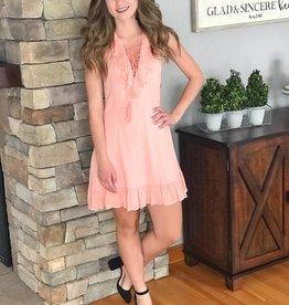 Helen Coral Pink Dress