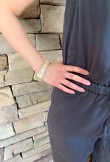 Leather Crystal Bracelet