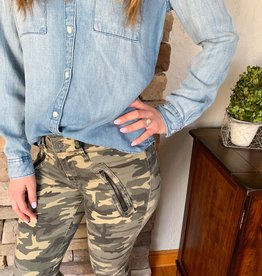 KUT Connie Camo Jeans