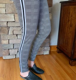 Monoreno Varsity Stripe Leggings
