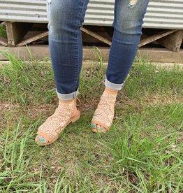 Crotcheted Sandal