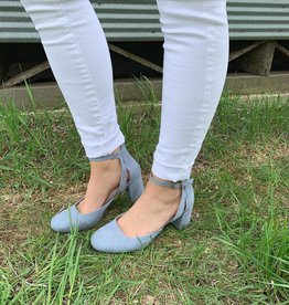 Flirt Denim Heel