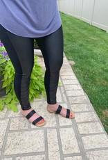 Black Moto Legging