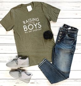 Raising Little Boys Tee