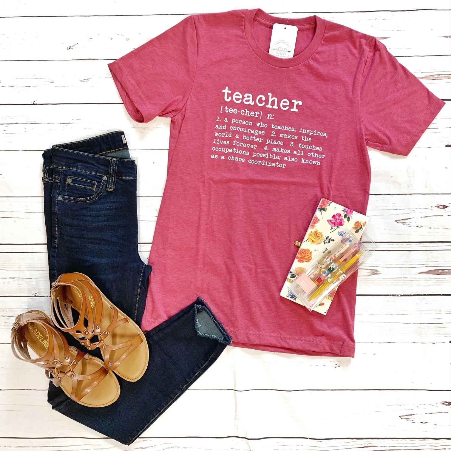 Teacher Definition Tee