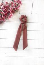 Rust Tail Scrunchie