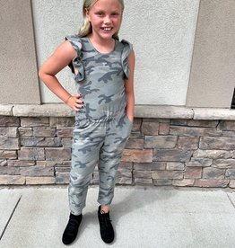 Kids Camo Jumpsuit