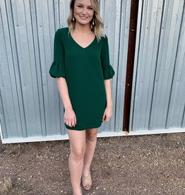 Power Shift Green Dress