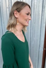 The Queen's Pearl Drop Earrings