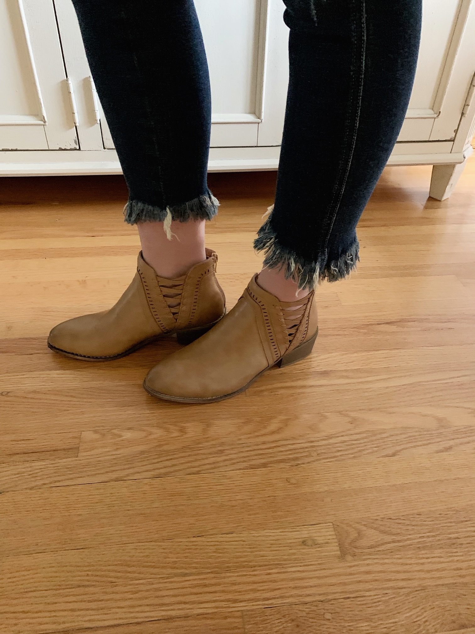 Corky's Camel Detailed Booties
