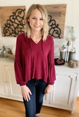 Forest Berry Blouse