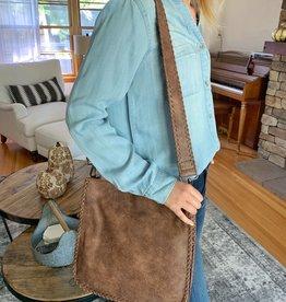 MMS Trading Brown Messenger Bag
