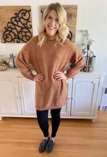 Auburn Mock Neck Sweater
