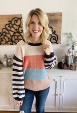 Stripe Ya Later Sweater