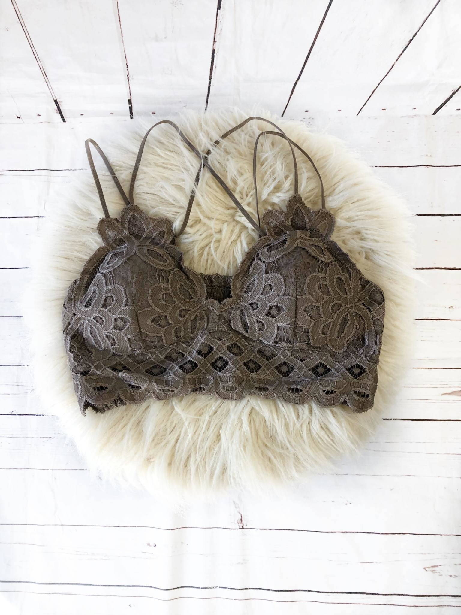 Sophie Chocolate Bralette