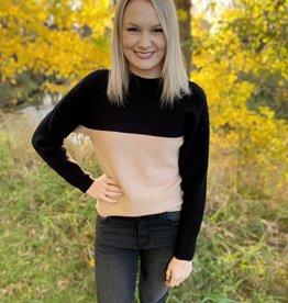 Black Mockneck Sweater