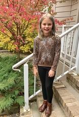 Girls Leopard Long Sleeve