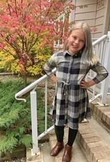 Angie Kid's Gingham Dress