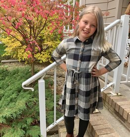 Angie Kid's Gingham Dress