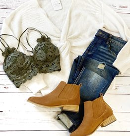 Ivory Twist Sweater