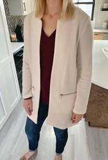 Cream Long Jacket