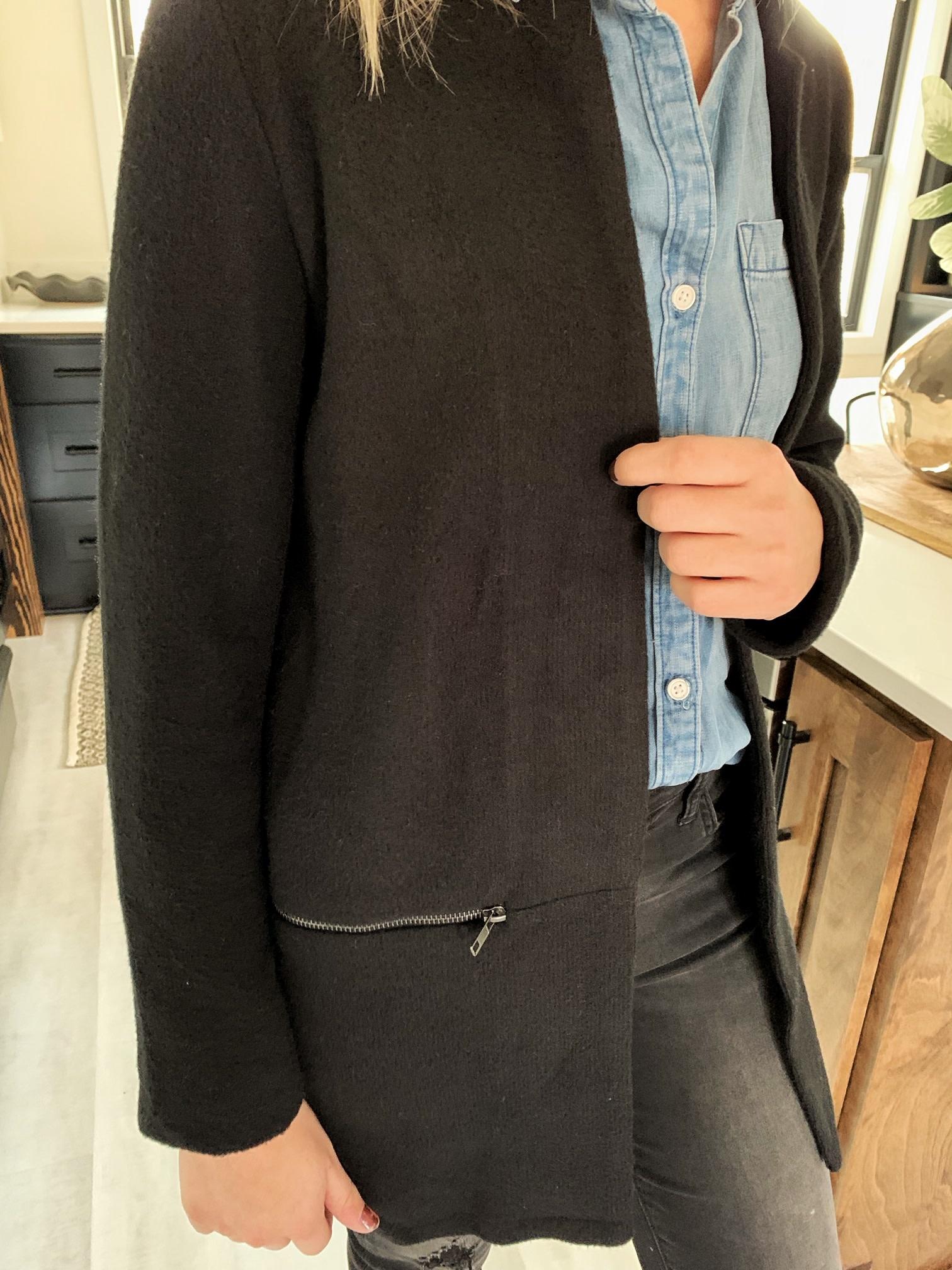 Black Long Jacket