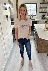 Bonjour Embroidered Top