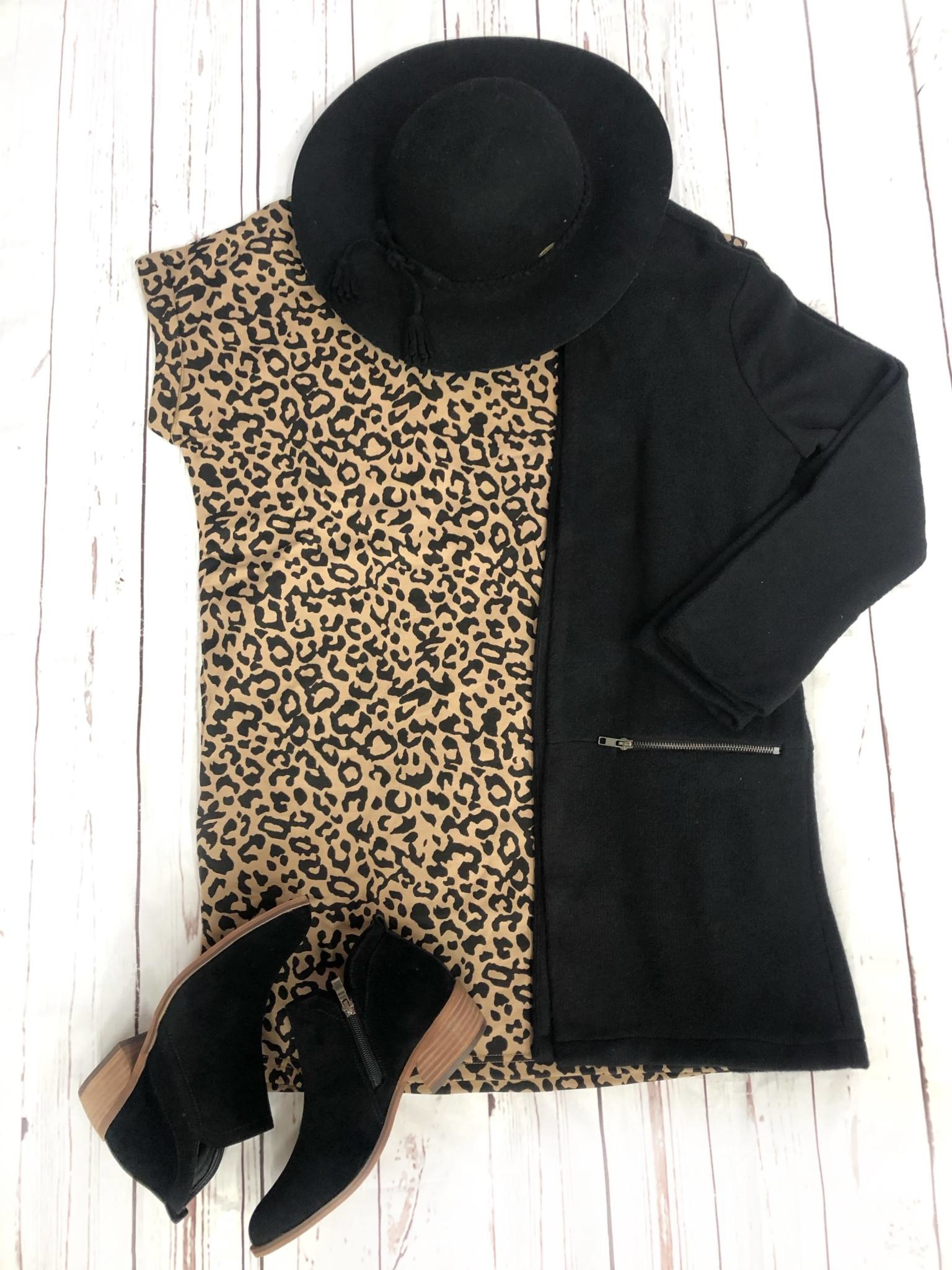 Lazy Leopard Dress