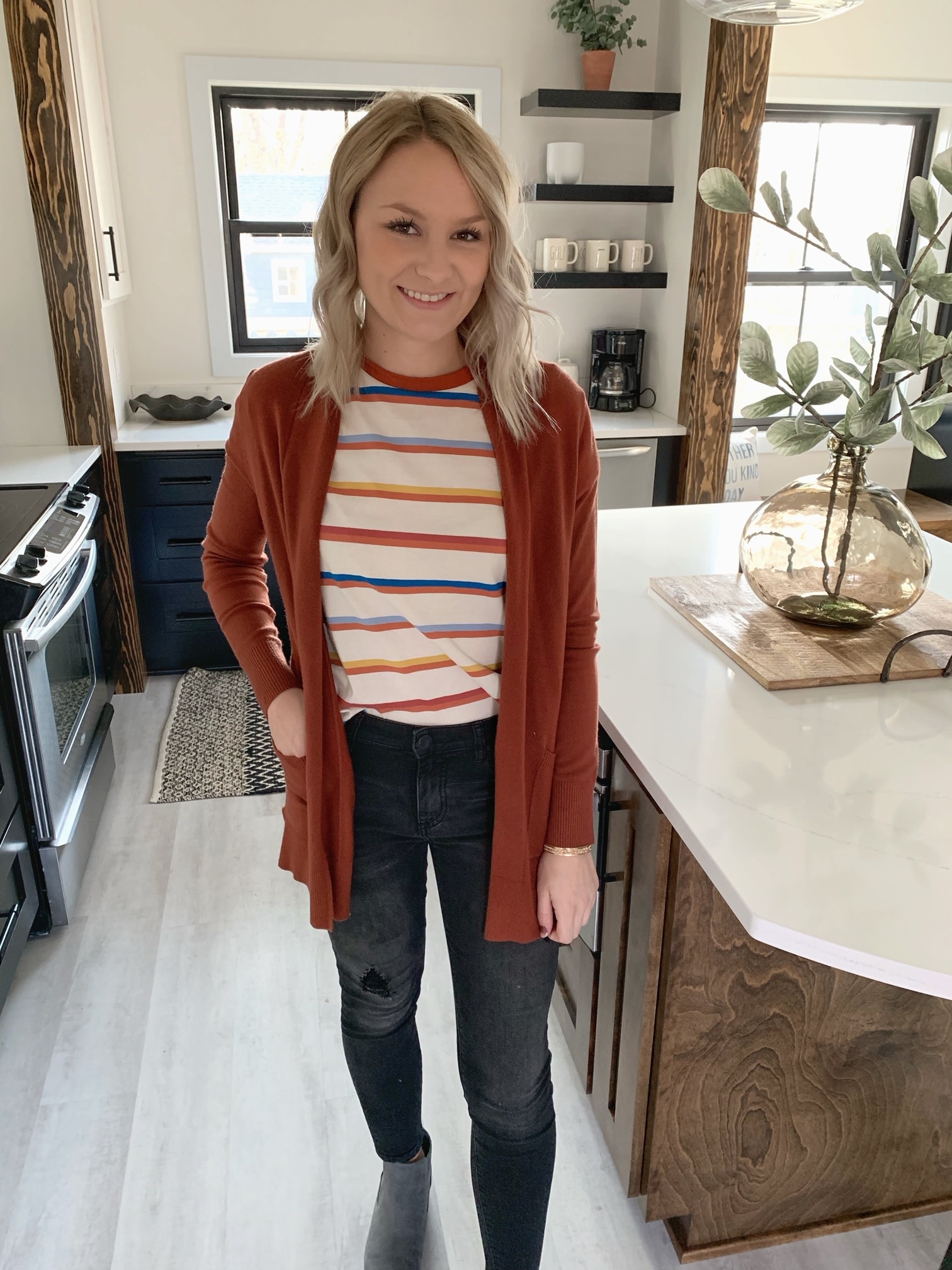 Carly Striped Top
