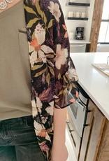 Olivia Ruffle Sleeve Kimono