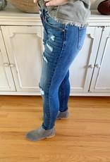 Mid Rise Gemma Distressed Jeans