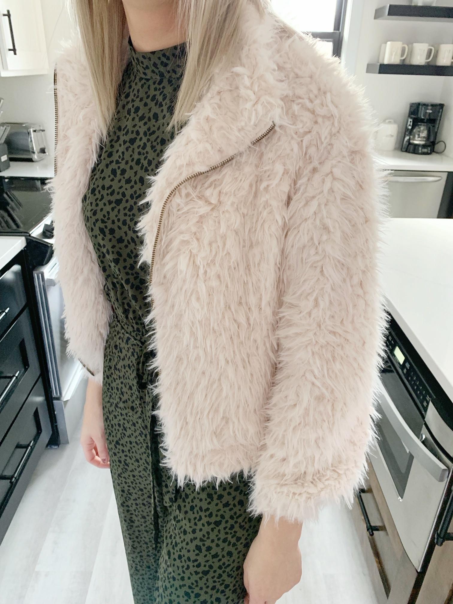 Cream Fur Coat