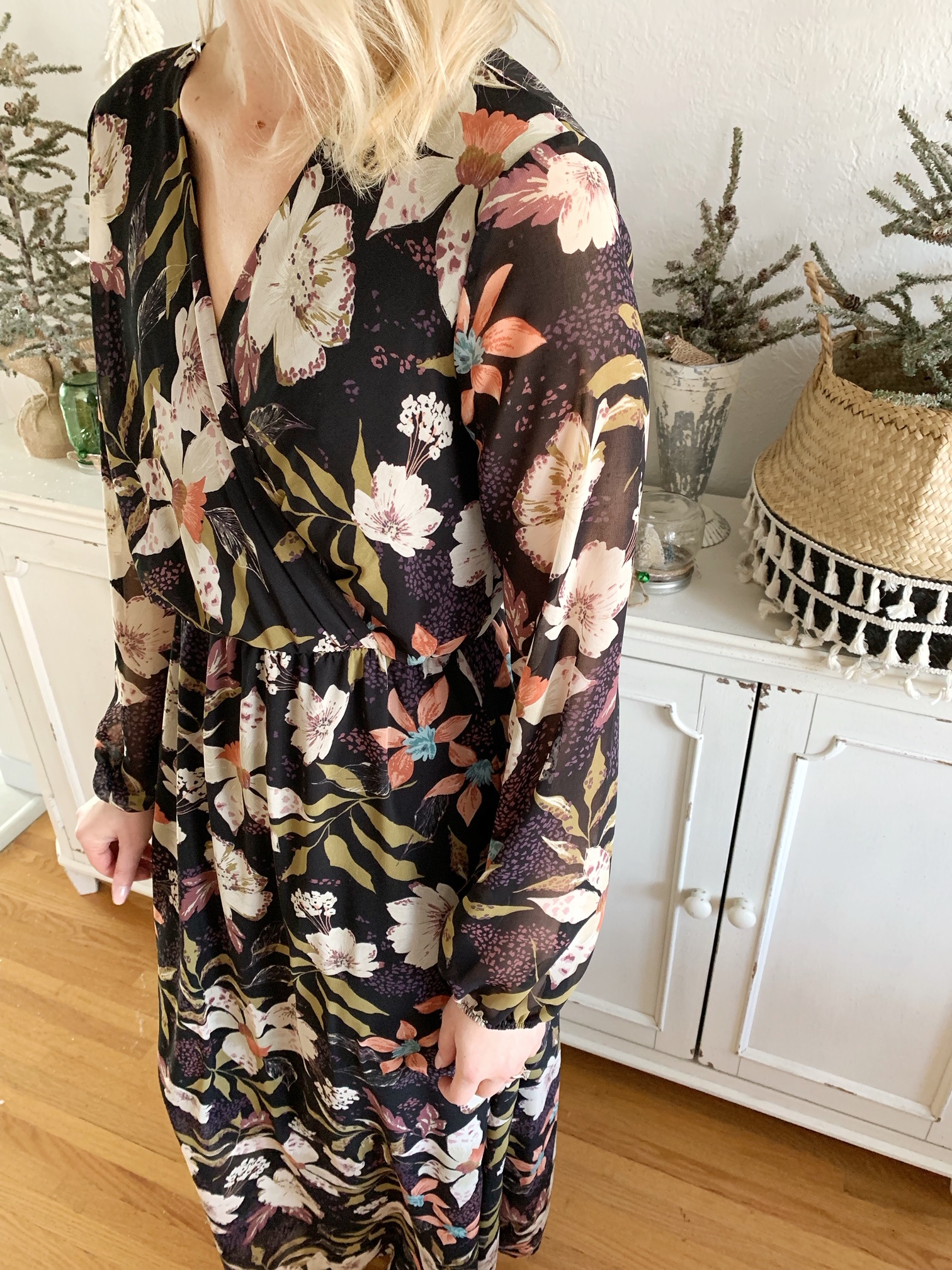 Olivia Floral Maxi Dress