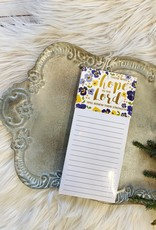 Mary Square Hope in the Lord Magnetic Notepad