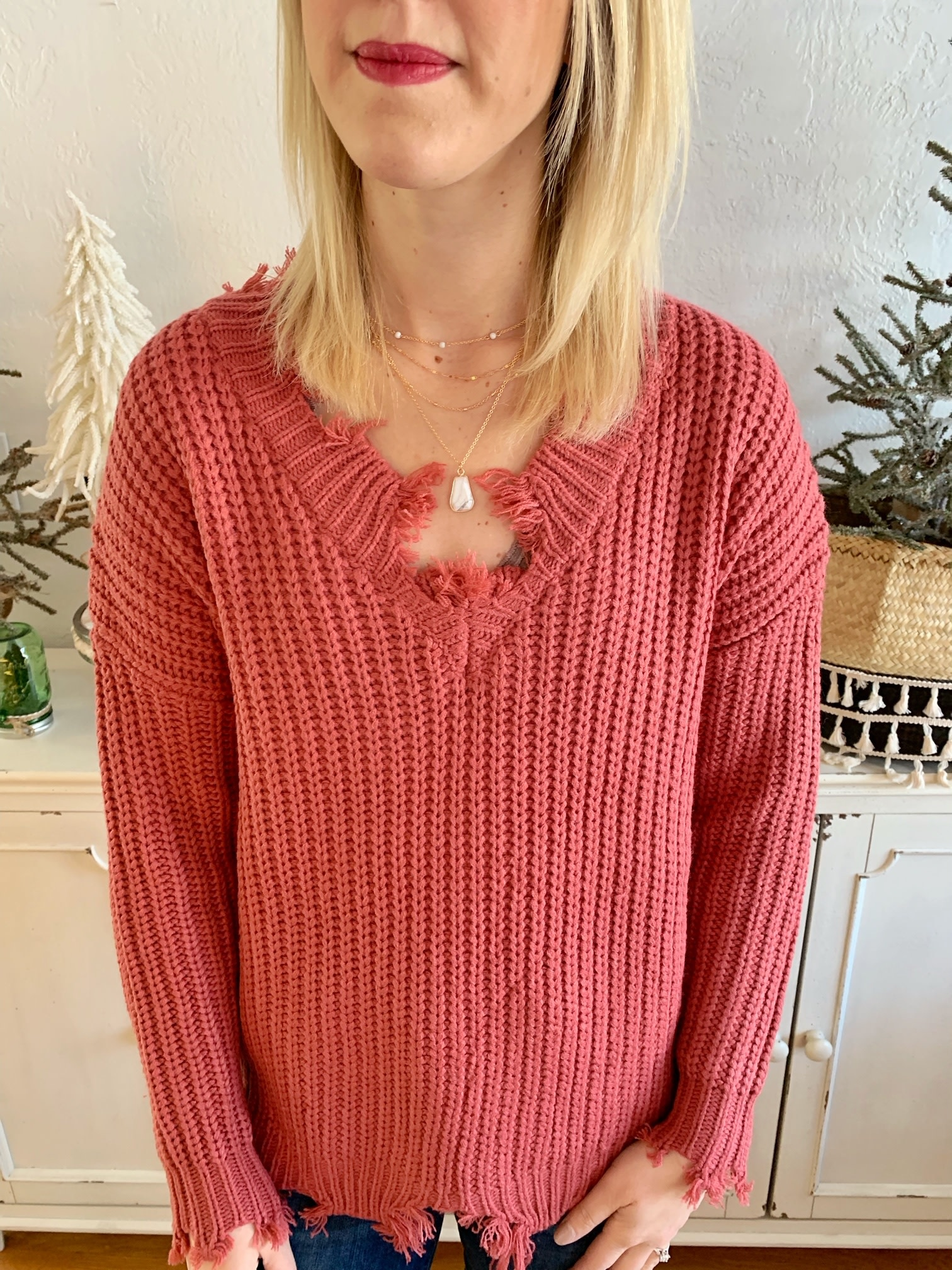 Murberry Distressed Sweater