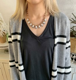 Marble Statement Necklace