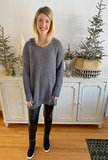 Grey Hooded Tunic