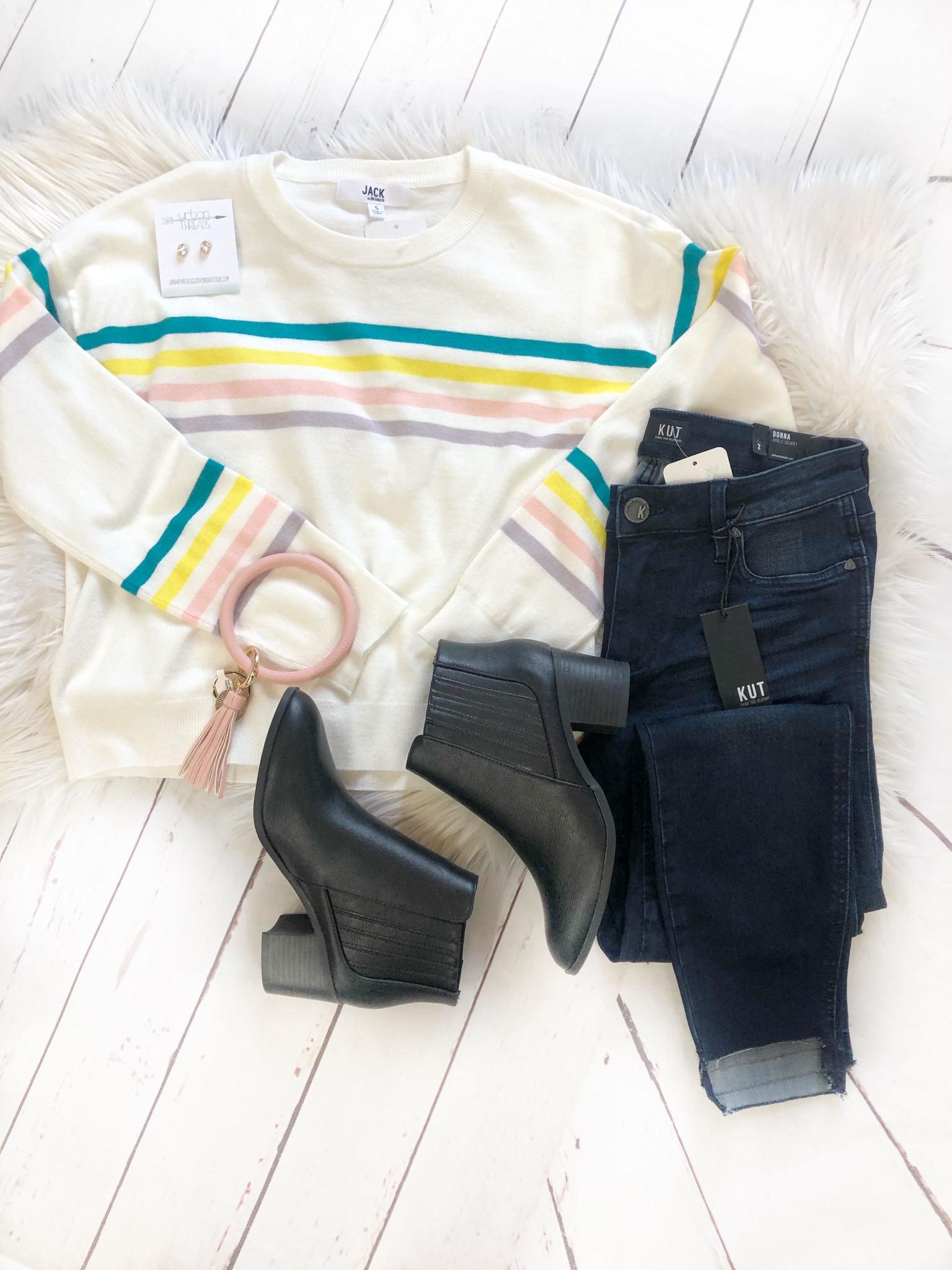 Like a Rainbow Sweater