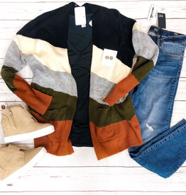 Addison Colorblock Cardigan