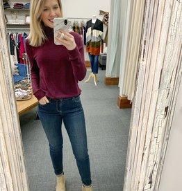 Stella Sweater - Wine